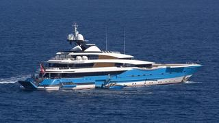 The Most Colourful Superyacht Exteriors In The World
