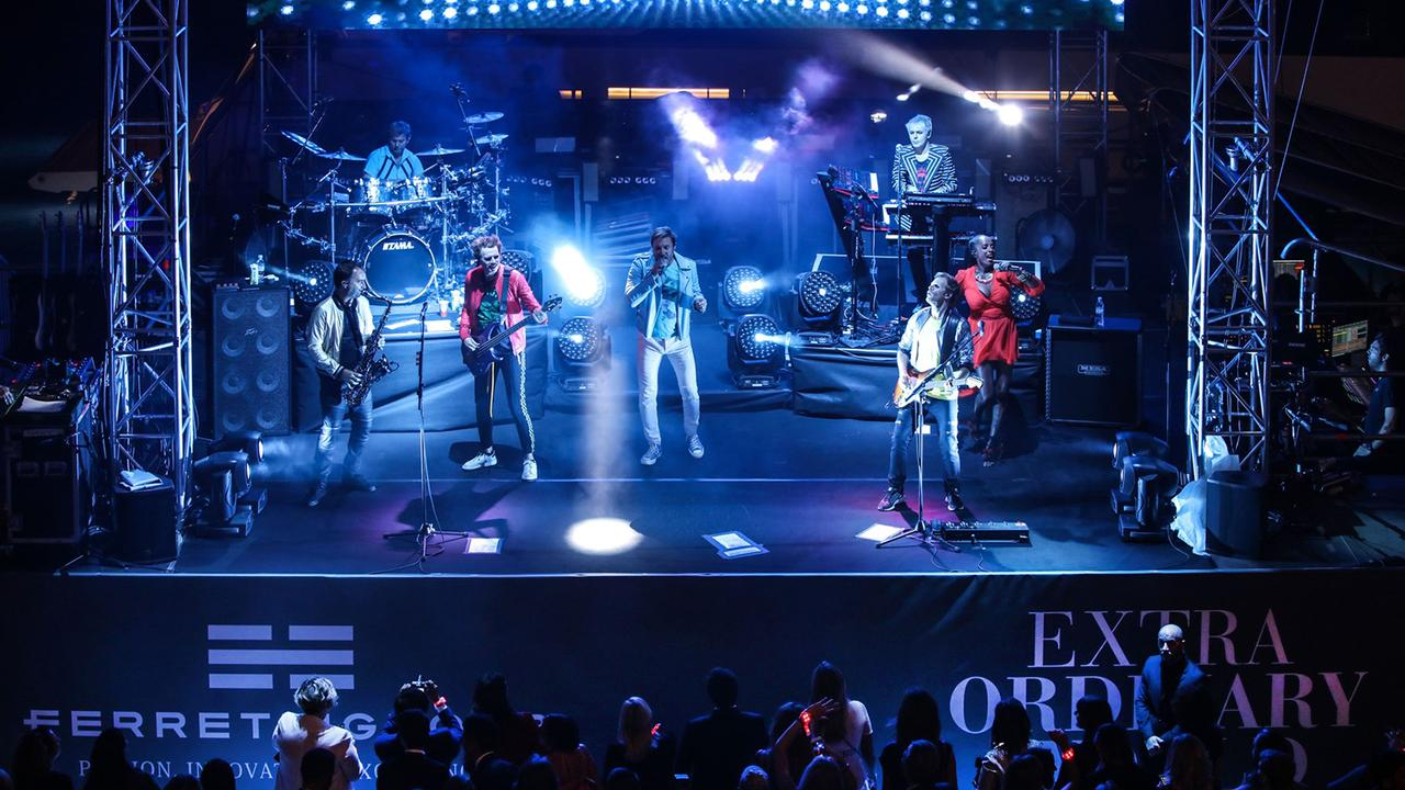 Duran Duran Kick Off Ferretti Group Private Preview With