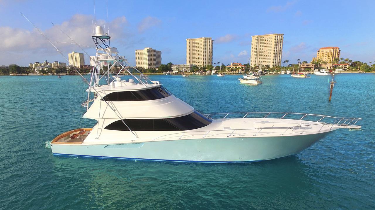 Viking Sportsfish Yacht Double Barrel Sold Boat