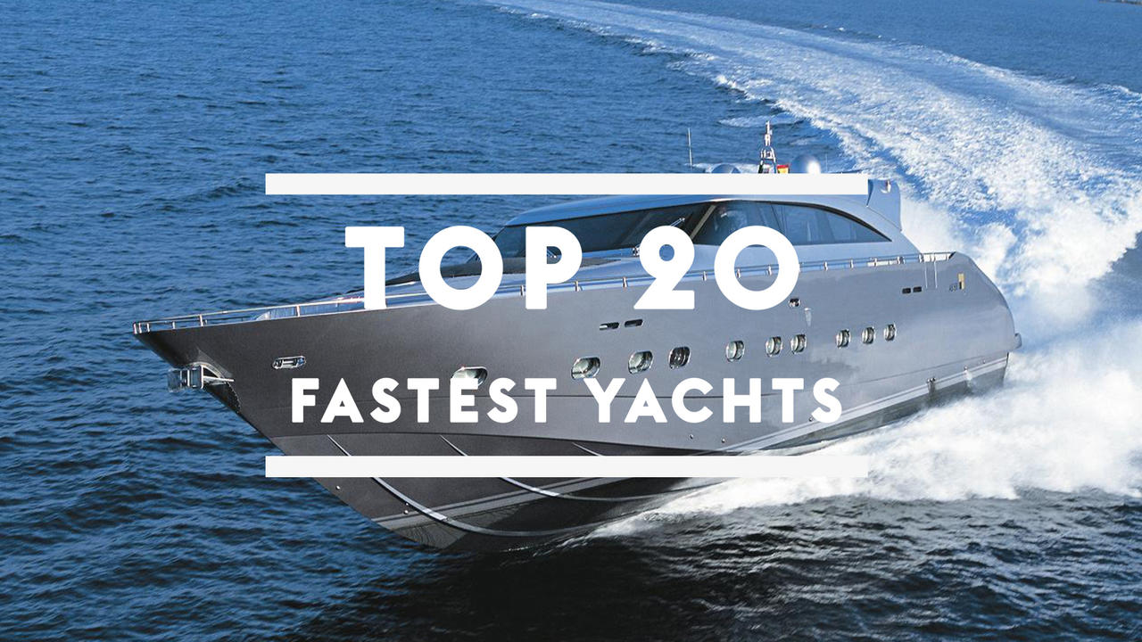 Top 20 Fastest Yachts In The World Boat International