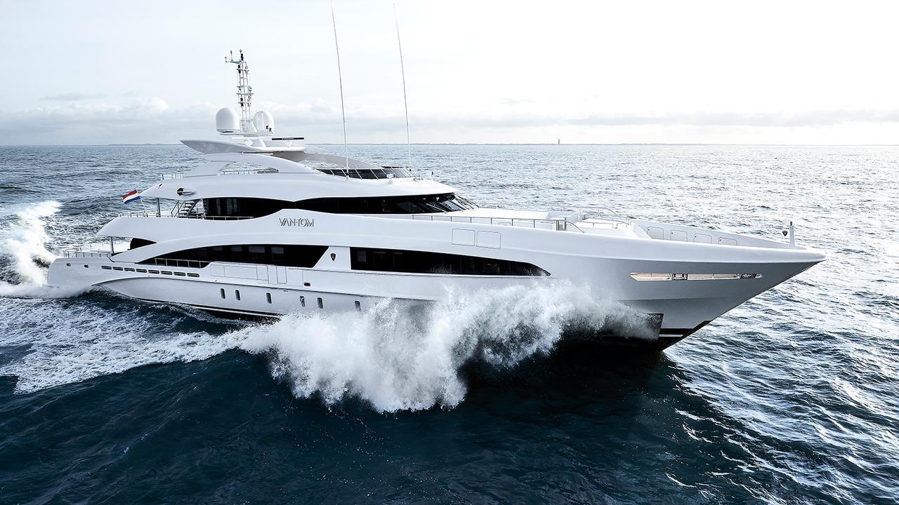50m Heesen Superyacht VanTom Delivered Boat International