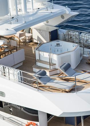 Fleur The Sunseeker 116 Yacht Packed With Entertainment