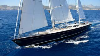 Royal Huisman Sailing Yacht Antares Now For Sale With