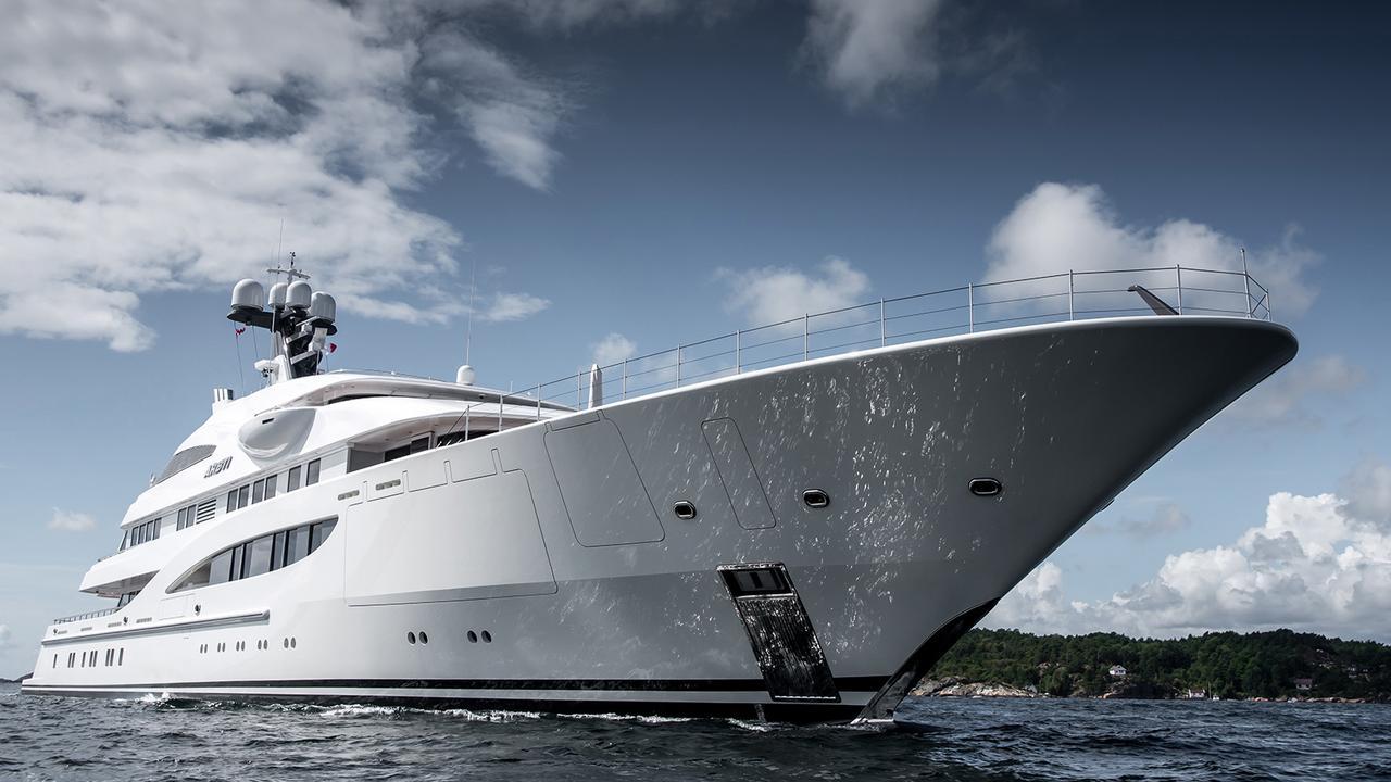 Areti Lrssens 85m Tour De Force Superyacht Boat