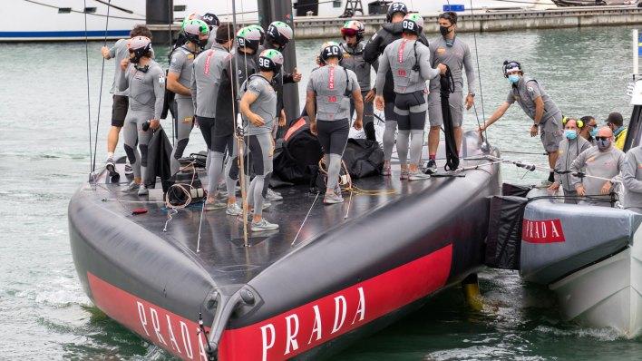 Luna Rossa Prada Pirelli at the 36th America's Cup