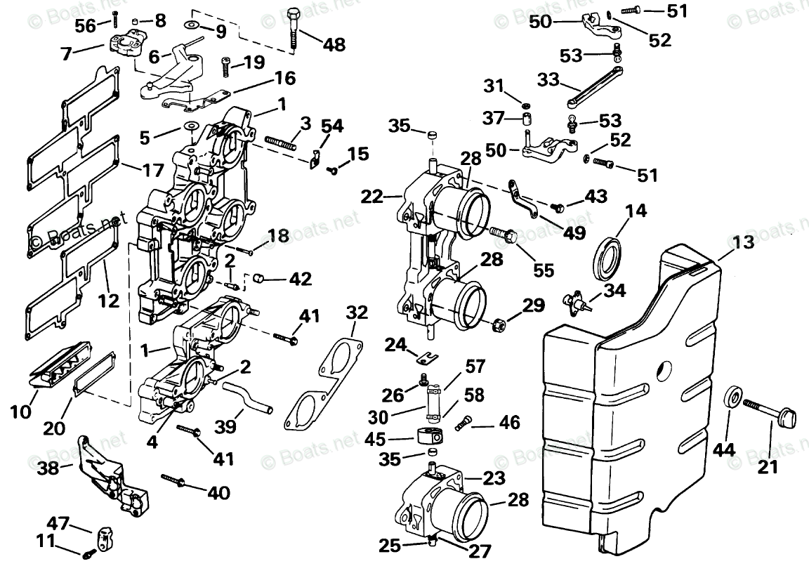 Evinrude Outboard Parts By Year Oem Parts Diagram For