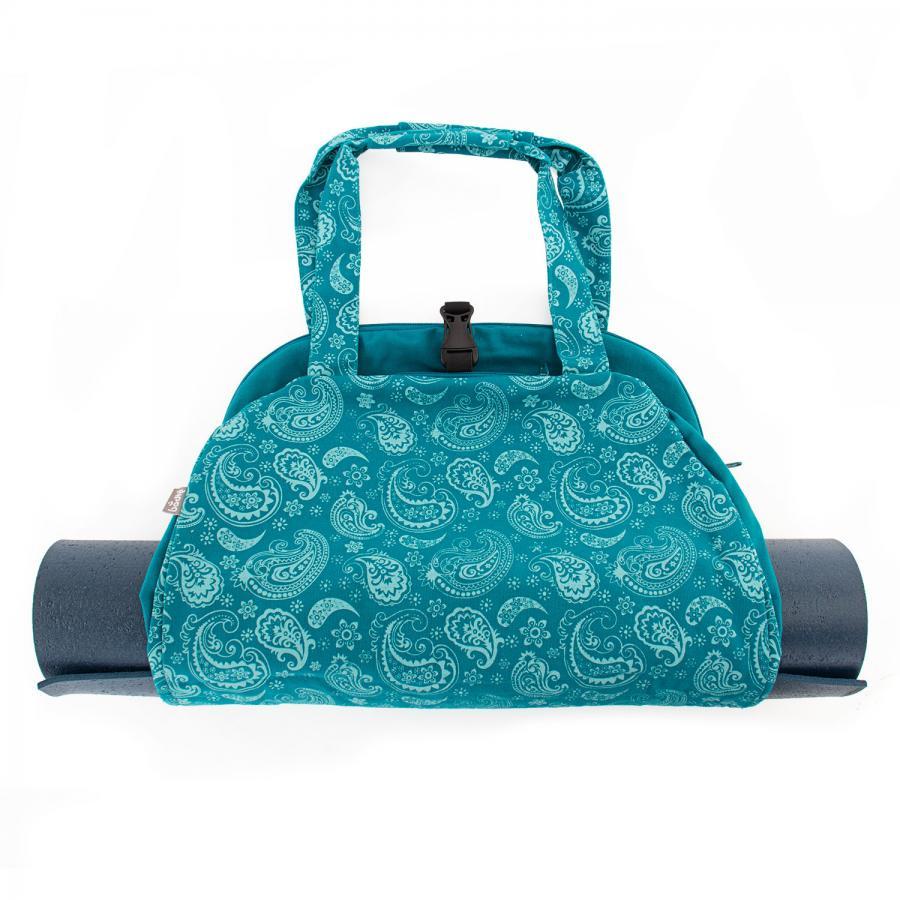 sac de yoga namaste paisley petrole maharaja collection