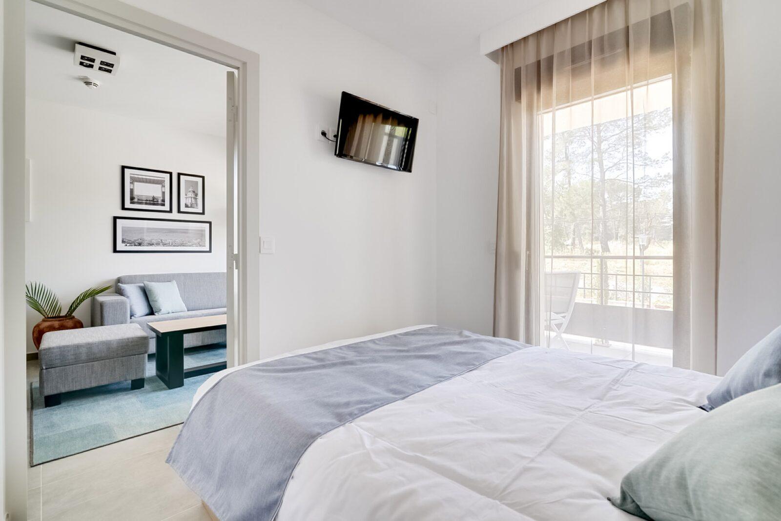 appartement pour 4 personnes avec lit double et un lit superpose