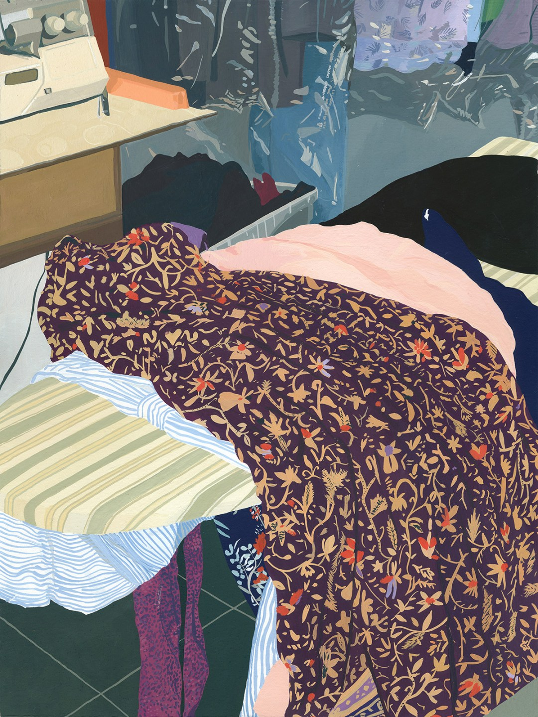 """Five Dresses"" by Artist Caitlyn Murphy"