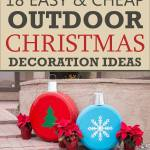 Easy Outdoor Christmas Decorating Ideas Homes Decor