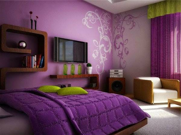 Purple Bedroom Ideas Curtains Accessories Paint Homes Decor