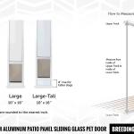 7 Best Sliding Glass Dog Doors Reviews Safety Insulation Faq