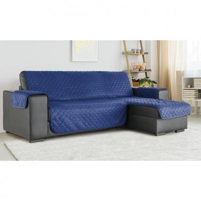housse pour canape meridienne 190 cm bleu