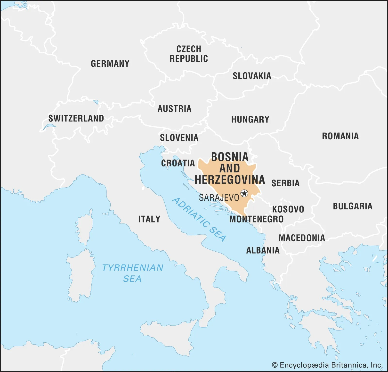 Bosnia And Herzegovina Facts Geography History Maps Britannica