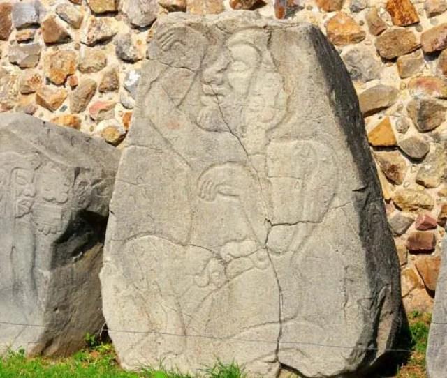 Monte Alban Danzante Sculpture