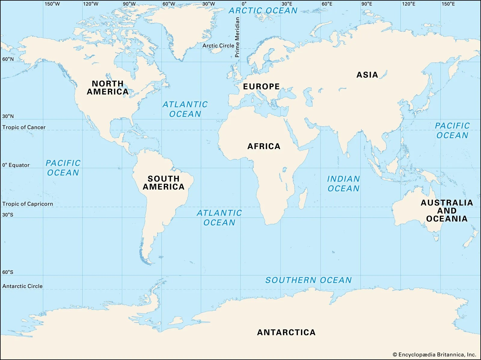 Just How Many Oceans Are There Britannica