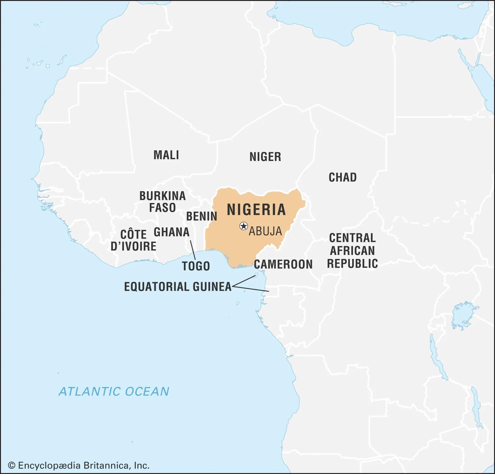 Nigeria History Population Flag Map Languages Capital Facts Britannica