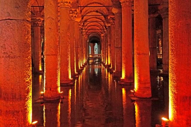 Basilica Cistern | cistern, Istanbul, Turkey | Britannica