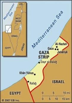 Αποτέλεσμα εικόνας για gaza map