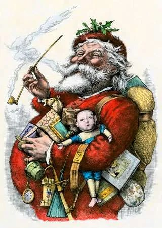 Santa Claus Legendary Figure