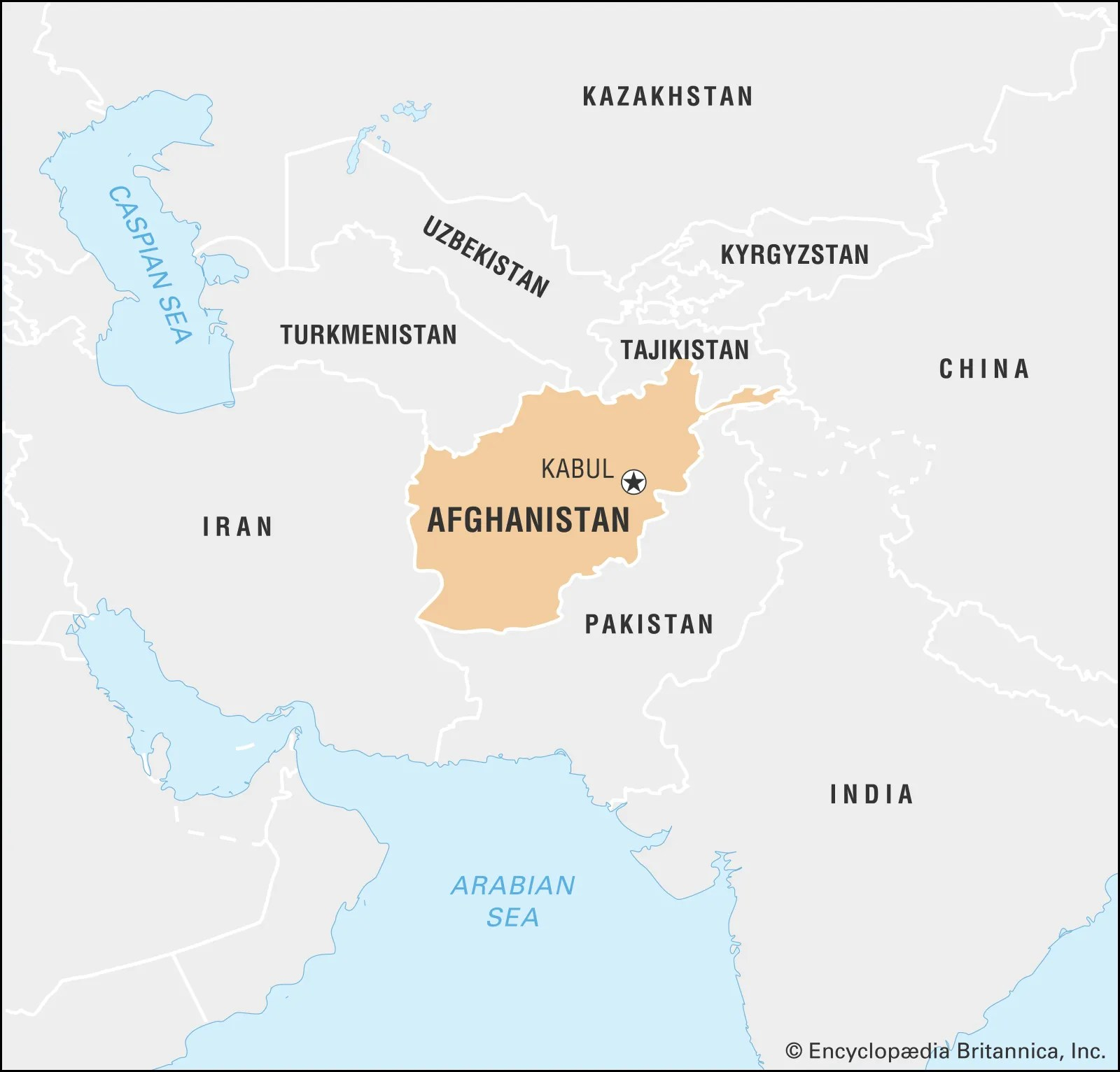 Where Is Kabul On The Map