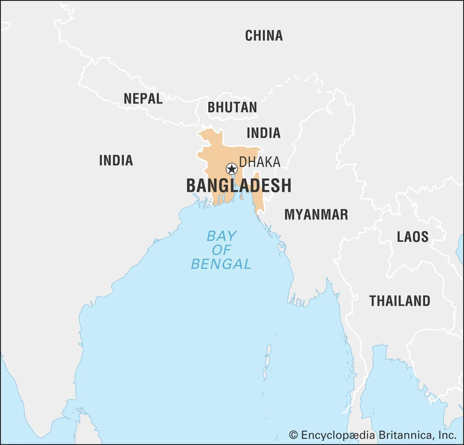 Bangladesh History Capital Map Flag Population Facts Britannica