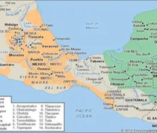 Pre Columbian Civilizations Mesoamerican Civilization