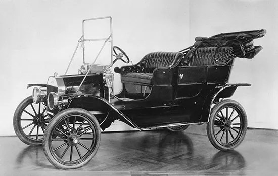 Ford Motor Company   History   Facts   Britannica com The 1909 Model T