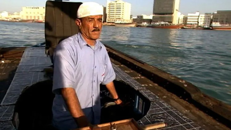 Dubai: water taxi, united arab emirates
