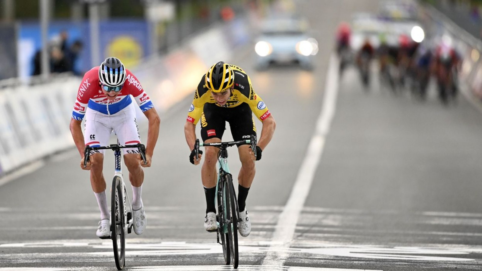 van der poel it was the sprint of my
