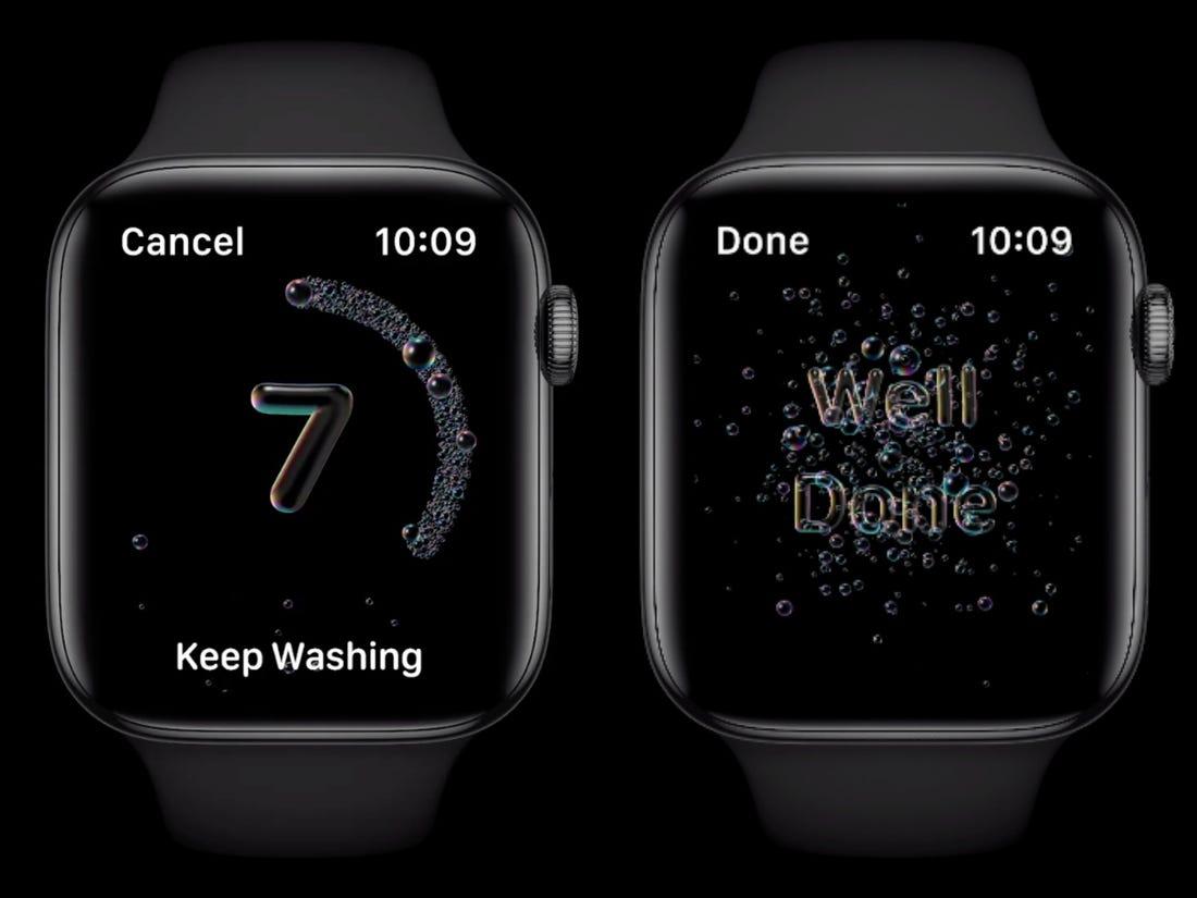 Apple Watch watcOS 7 güncellemesi
