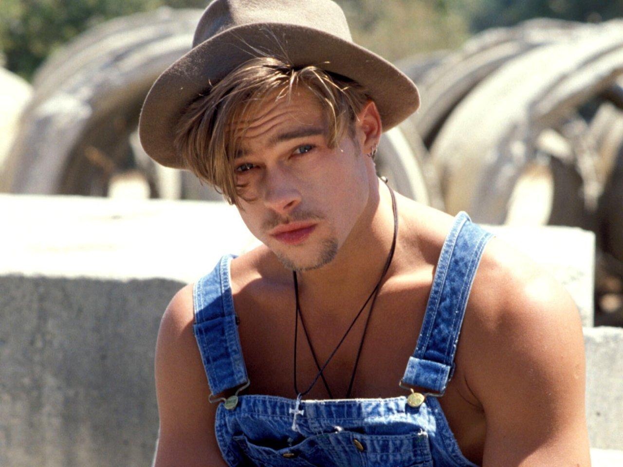 Brad Pitt joven