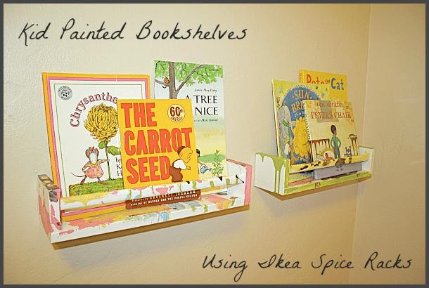 art projects for kids ikea bookshelf