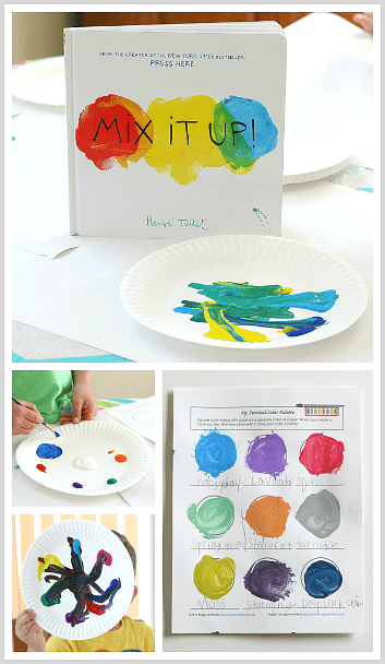 Mixing Colors Create And Name Your Own Colors Buggy And Buddy