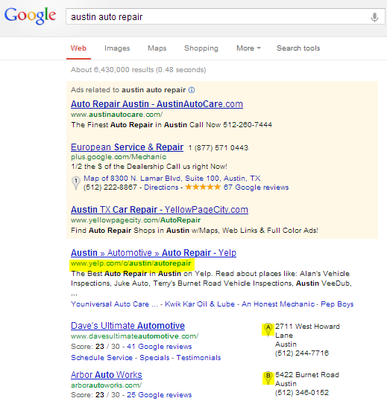 search results for small business advertising online
