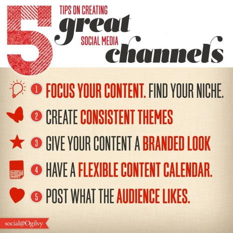 5 Tips on Creating Great Social Media Channels [Infographic] image 5 Tips on Creating Great Social Media Channels