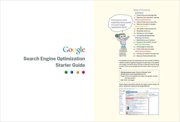 SEO Guide from Google