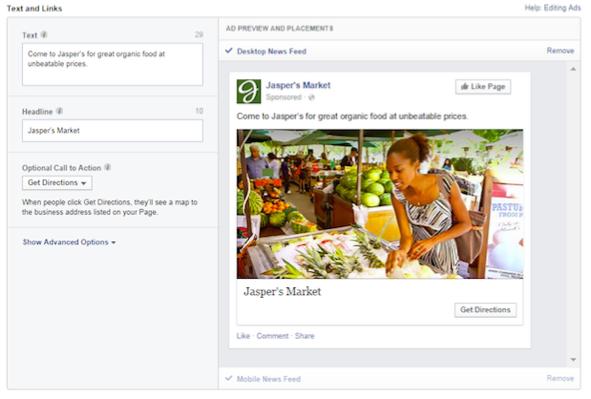 Facebook Local Awareness Ads