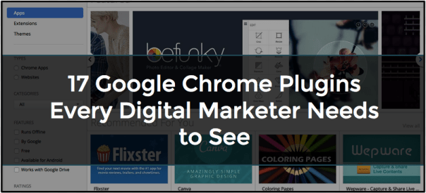google chrome plugins for marketers