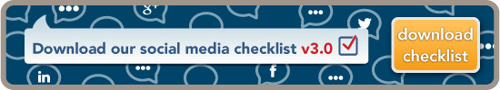 Download our Free Social Media Checklist
