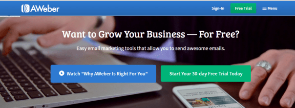 email marketing software - Aweber
