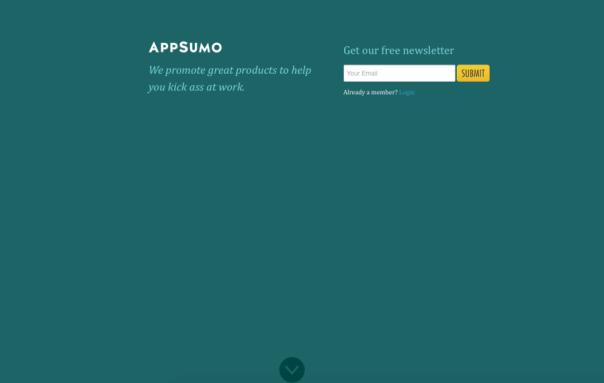Interrupt from AppSumo