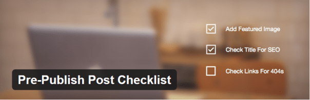 Pre-Publish Checklist