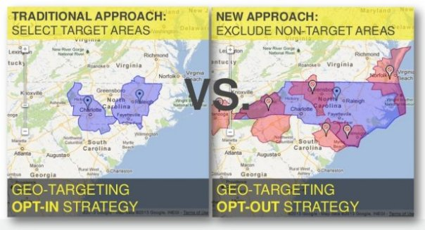 Opt-In and Opt-Out Geotargeting Strategies