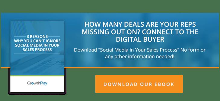 social media in the sales process