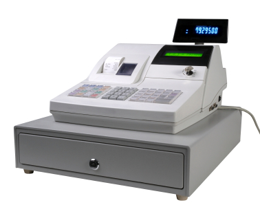 Cash regidter isolated with led display
