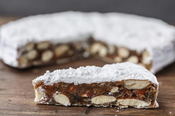 Panforte di Siena (Christmas cake from Italy)