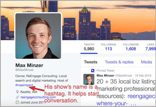 create a hashtag for mass media