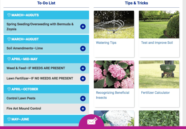 Increase conversions Lowe's lawn guide