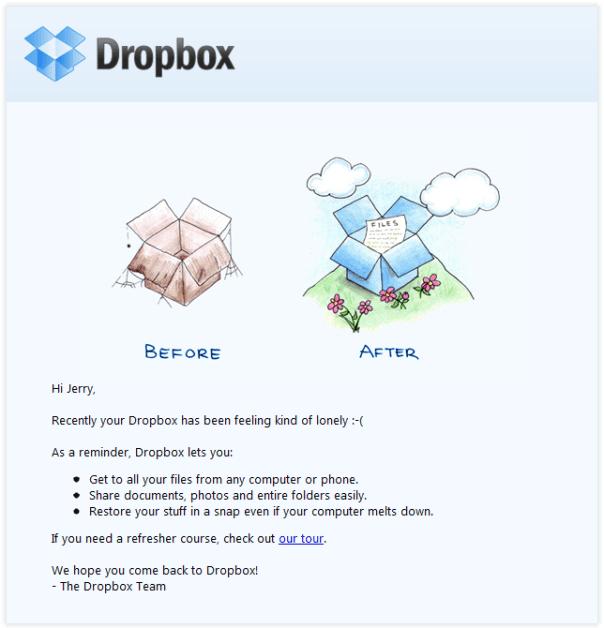 Sending reminder mails